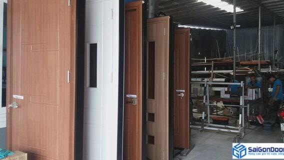 Xưởng sản xuất cửa nhựa composite Phú Yên